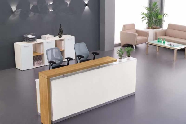 welcome desk reception desk cashier desk minimalist modern offic