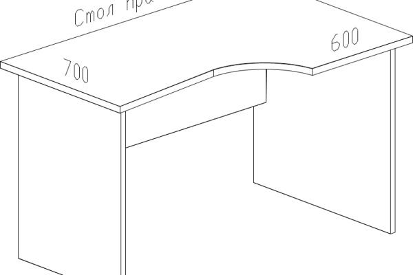 акцент-стол-криволинейный-С32
