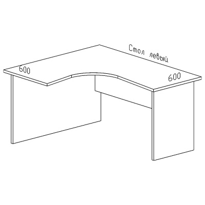 стол левый