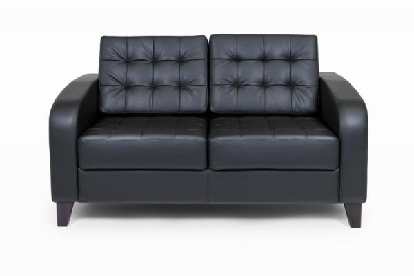 Рольф двухместный диван, ИК Domus, Black (черный) (1)