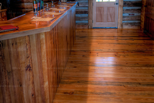 Wood Bar HDR (The Homeplace Vineyard)