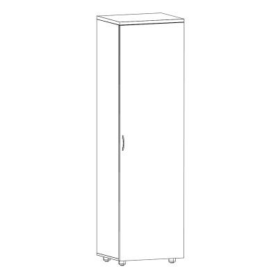 акцент-шкаф-одежда-С52