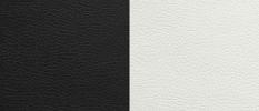 Экокожа черный-белый