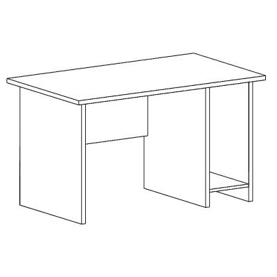 стол рабочий с нишей
