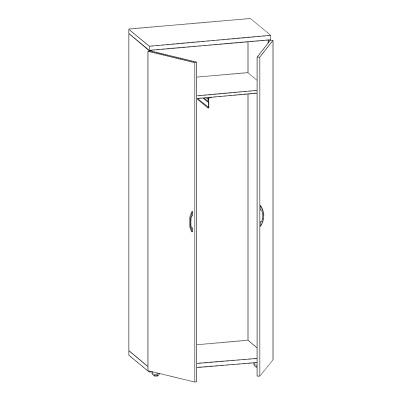 акцент-шкаф-одежда-Е30