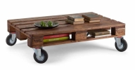 wonderful fancy untreated pallet coffee table design with wheels idea with plan  - HighlineTransport